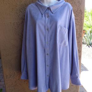 MAINSTREET BLUES Blue  Jacket Size 4X